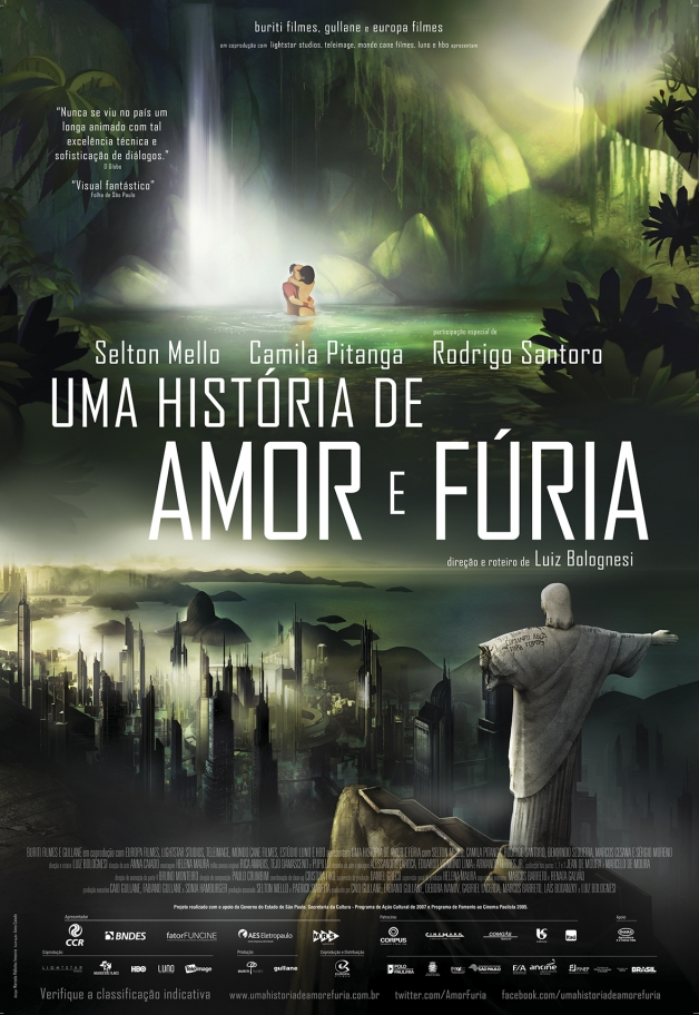 (Português do Brasil) Uma História de Amor e Fúria