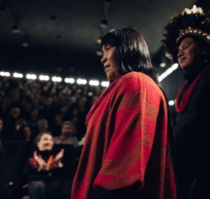 'Ex-Pajé' é premiado em Berlim