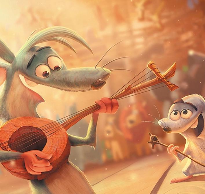 O estúdio indiano Symbiosys Technologies assina a coprodução da animação Arca de Noé
