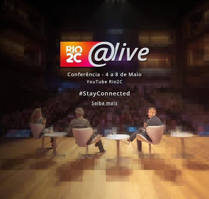 Rio2C terá conferência digital aberta e gratuita