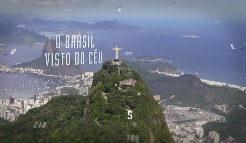 O Brasil Visto do Céu
